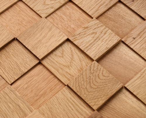Mozaik Ahşap Diamond Oak